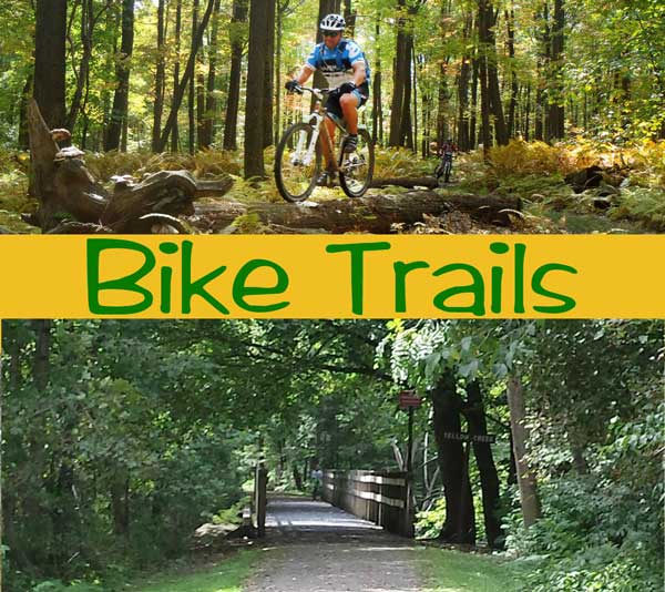 Biking and Walking Trails in and around Johnstown PA