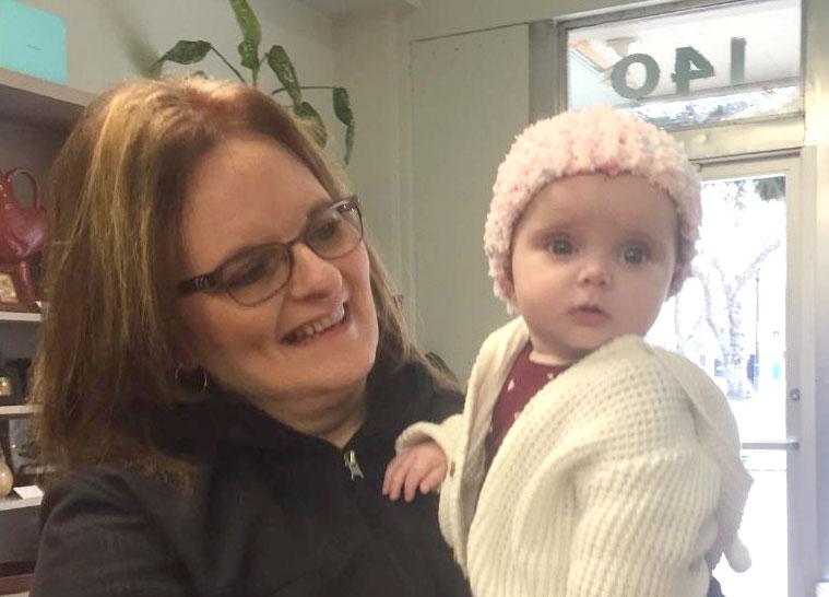 Sweet Baby in Lexi Kline Hat