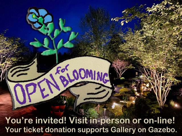 Open for Blooming Logo and Photo