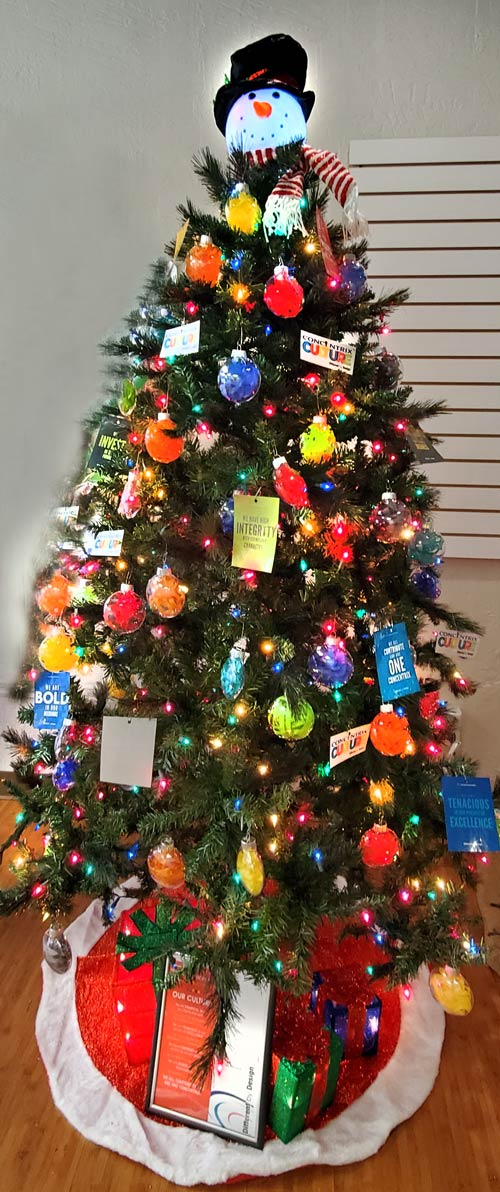 Concentrix Holiday Tree