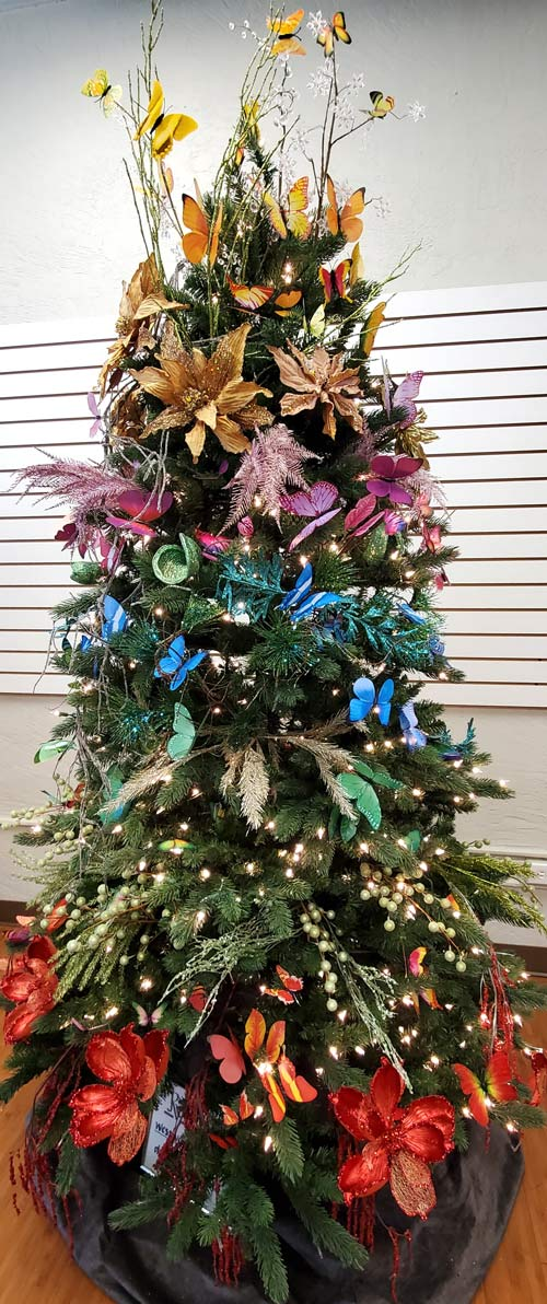 Westwood Floral Holiday Tree