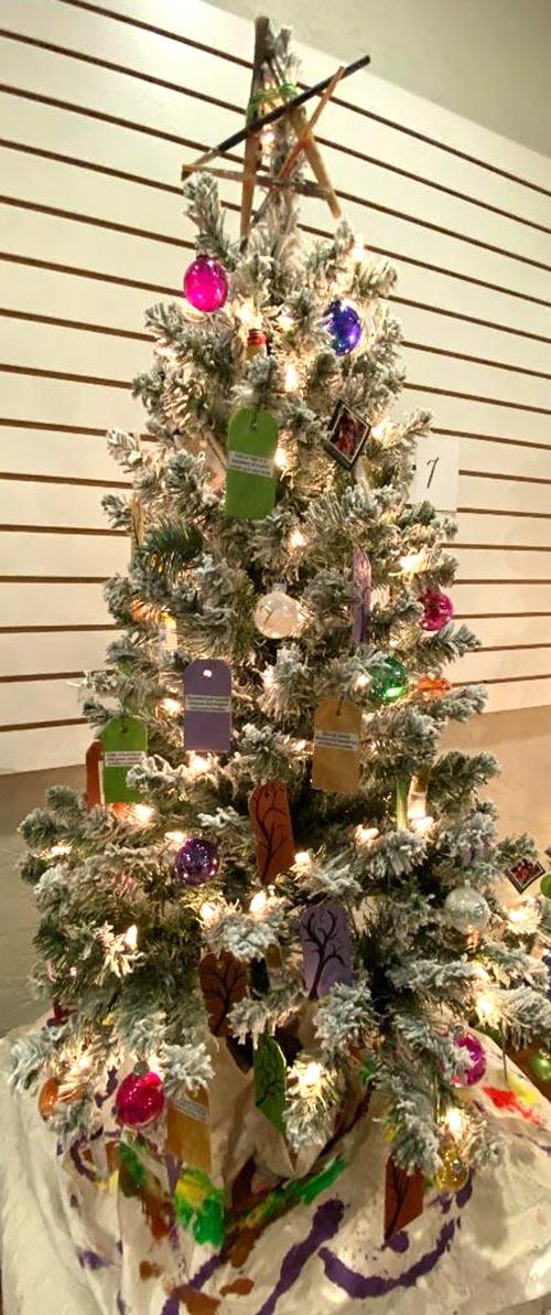 Sandy Wirfel Holiday Tree