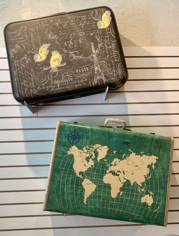 Erin Mosteller--Suitcases
