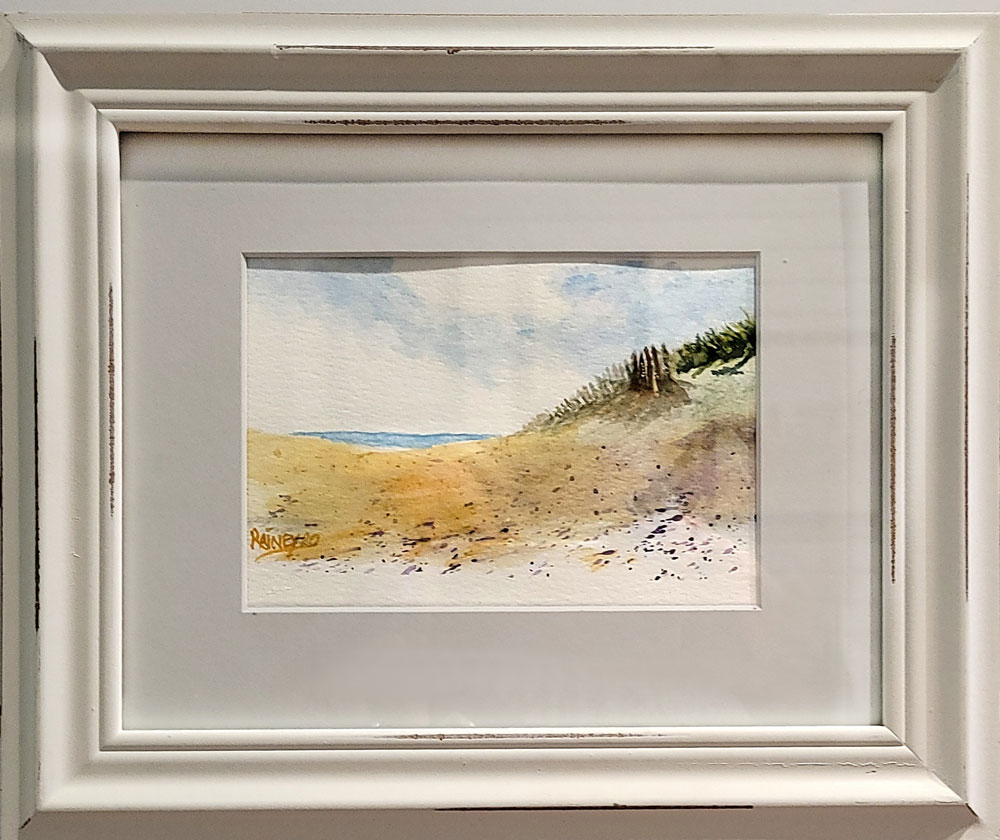 Beach Sand Dunes by Fred Rainey