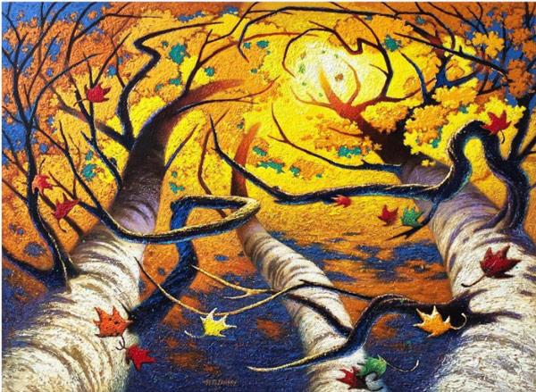 Swing Time by Joe Berezansky, Artist, for Pandemic Art Series