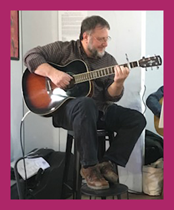 Live music by Barry Poglein