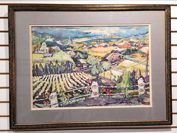 Watercolor by Barbara Strank-Zivkovich