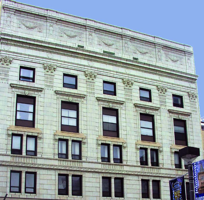 Exterior of State Theatre, Johnstown PA